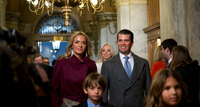 Donald Jr. and Vanessa Trump