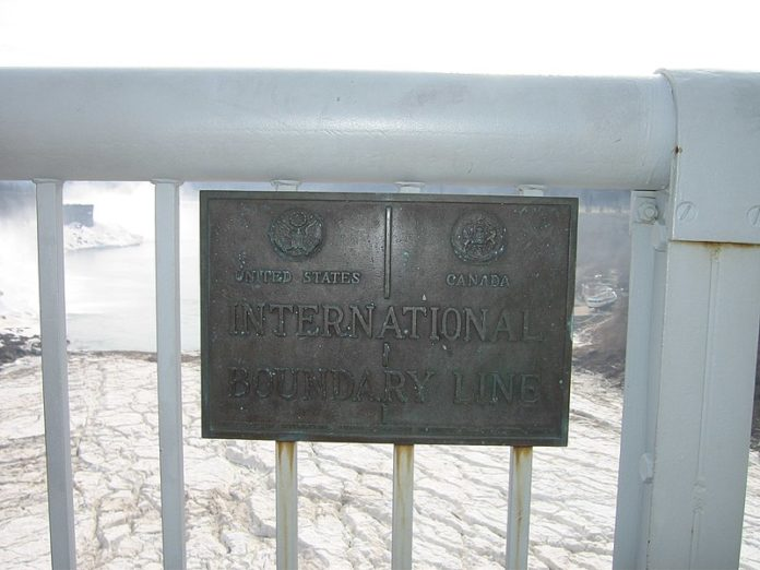 United States-Canada border