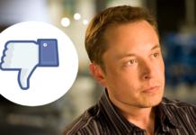 Elon Musk, and Facebook dislike button