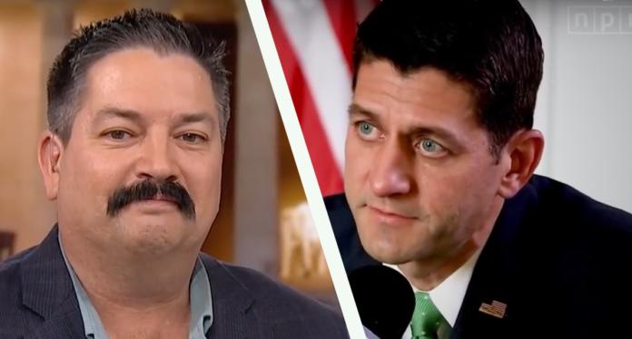 Randy Bryce, Paul Ryan