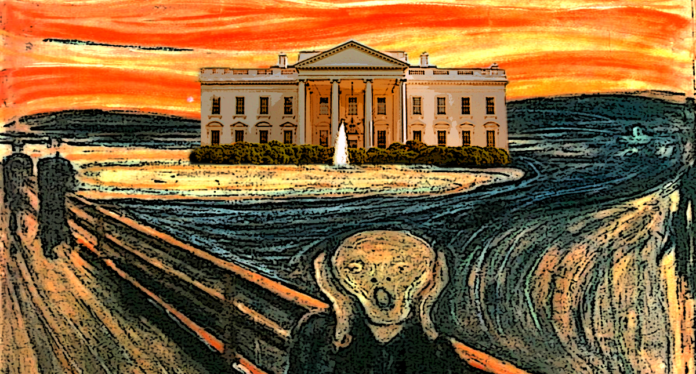 The White House and the Scream
