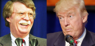 Bolton and Trump