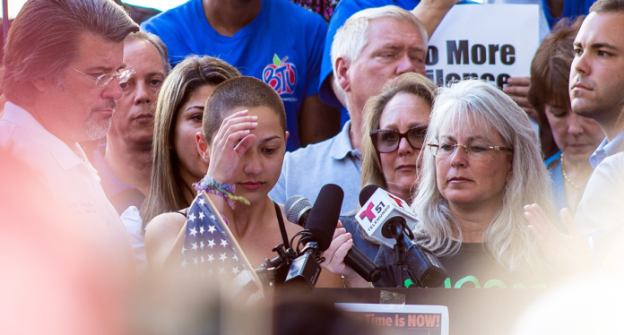 Emma Gonzalez at the Rally to Support Firearm Safety Legislation in Fort Lauderdale Emma Gonzalez at the Rally to Support Firearm Safety Legislation in Fort Lauderdale