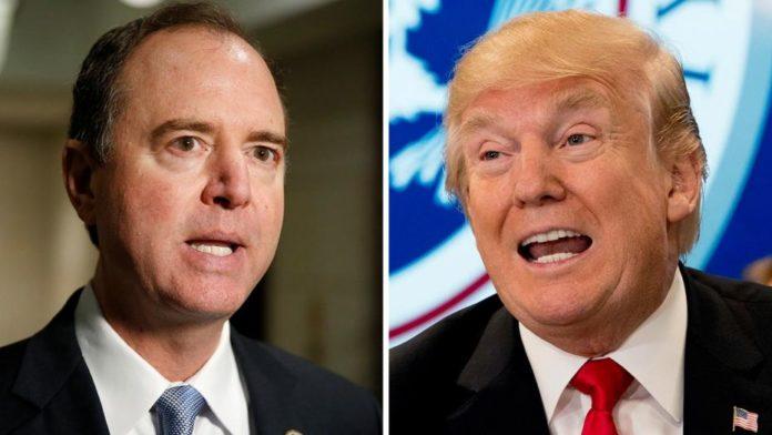 Schiff and Trump