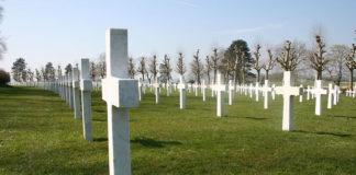 American World War I cemetery at Bellaeu Wood
