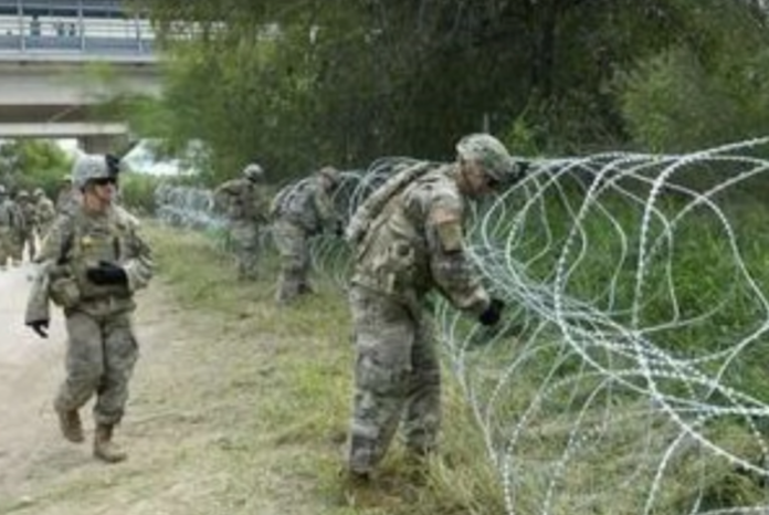 troops at border