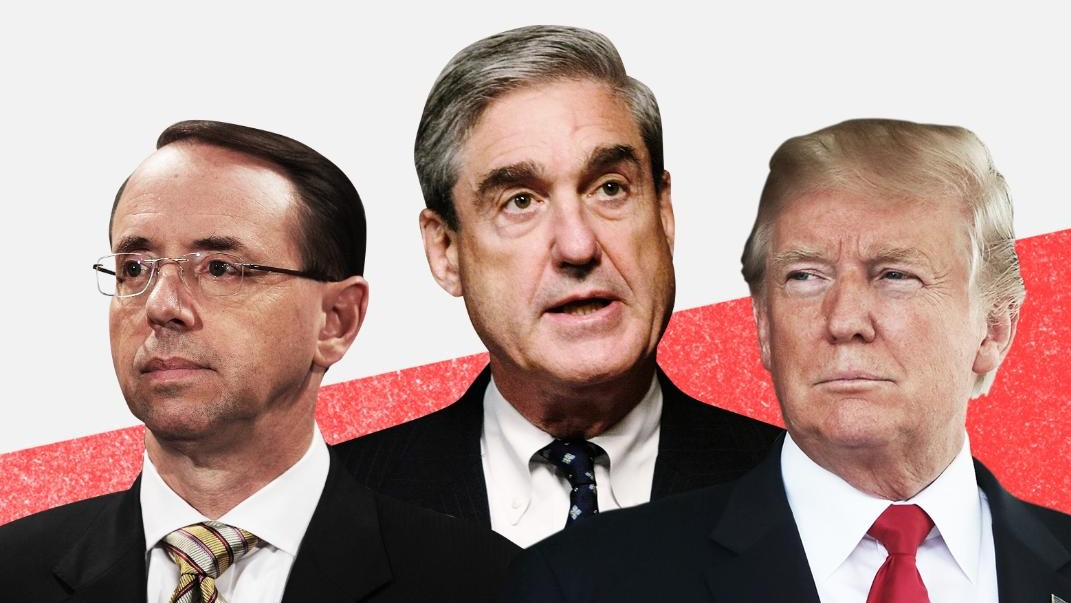 Trump Retweets Meme Calling For Mueller And Rosenstein To Be Tried ...