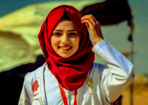Razan Al Najar Palestine Yemen