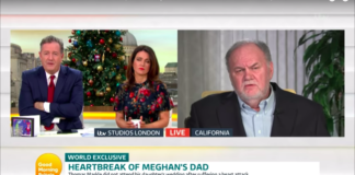 Thomas Markle Good Morning Britain