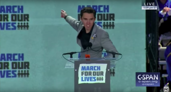 David Hogg March For Our Lives Parkland Laura Ingraham