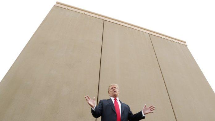 Trump concrete wall