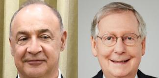 "Leonard ""Len"" Blavatnik and Mitch McConnell"