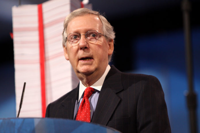 Mitch McConnell pullout