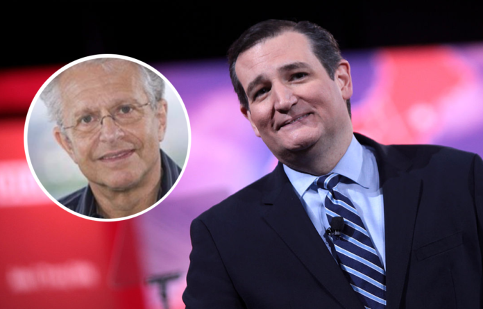 Laurence Tribe and Ted Cruz