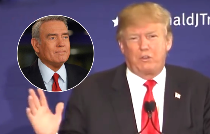 Donald Trump, Dan Rather