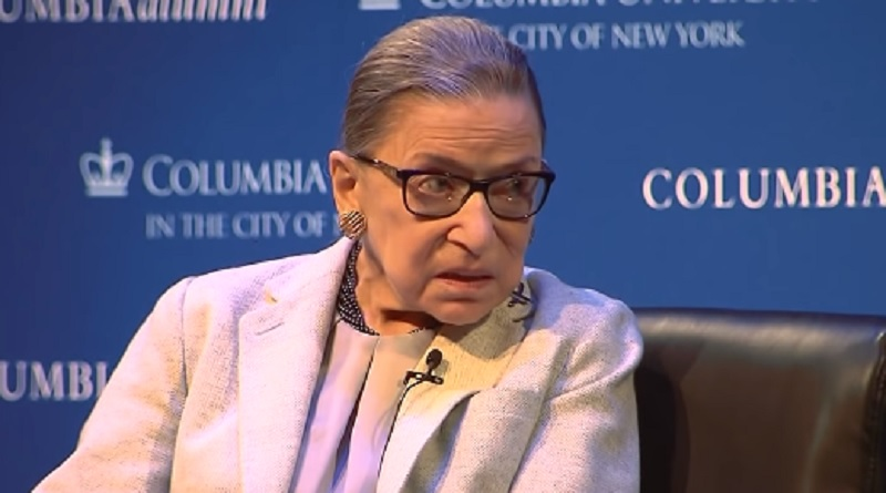 129c72470 NYPD launches hate crime investigation after Ruth Bader Ginsburg poster  defaced by hate speech