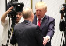 Vladimir Putin & Donald Trump at APEC Summit in Da Nang, Vietnam, 11 November 2017