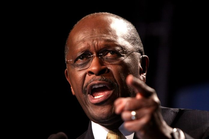 Herman Cain is stubborn