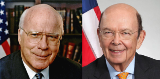 Patrick Leahy and Wilbur Ross