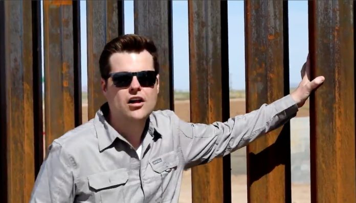 Matt Gaetz in Coolidge, Arizona