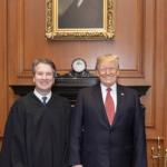 President Donald J. Trump and Supreme Court Justice Brett Kavanaugh via Wikimedia Commons