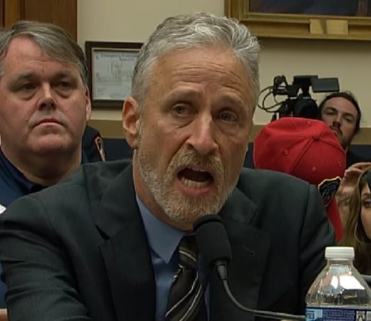 Stewart fights for first responders