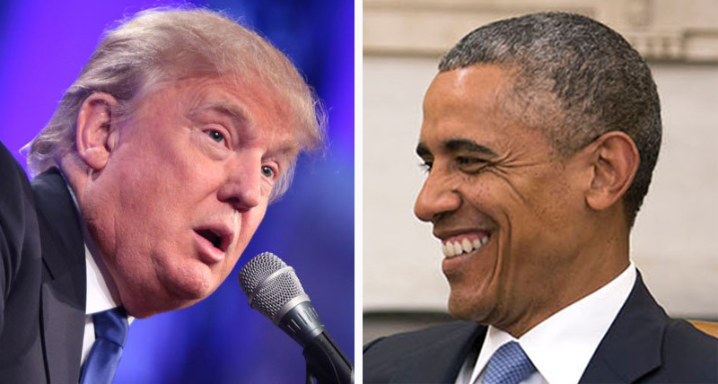 Trump begs supporters to declare him better than Obama with pathetic online poll