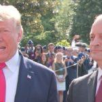 Trump and former Labor Secretary Acosta