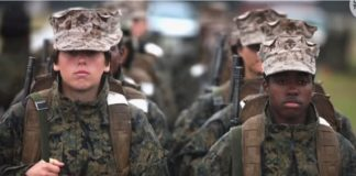 draft, women in the military